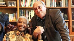 Nelson Mandela and Denis Goldberg